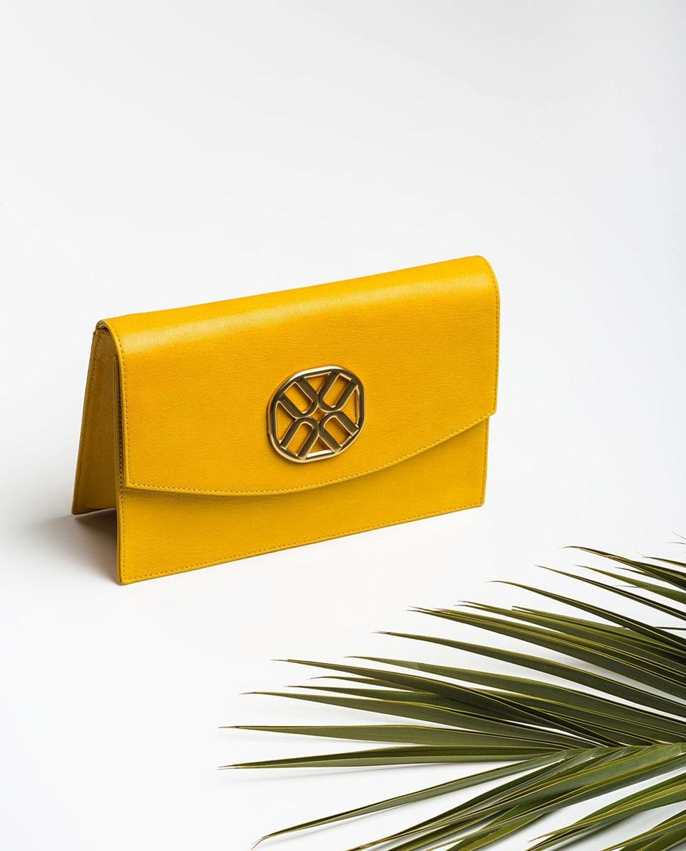 UNISA Monogram shoulder bag ZIGUAL_GCR limone 2