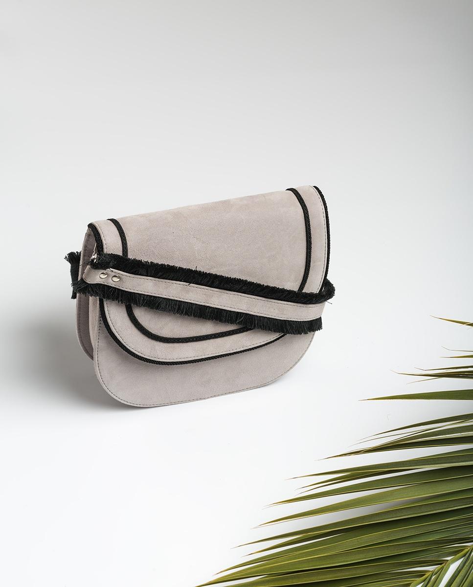 UNISA Fringes contrast shoulder bag ZKIKA_KS shadow 2