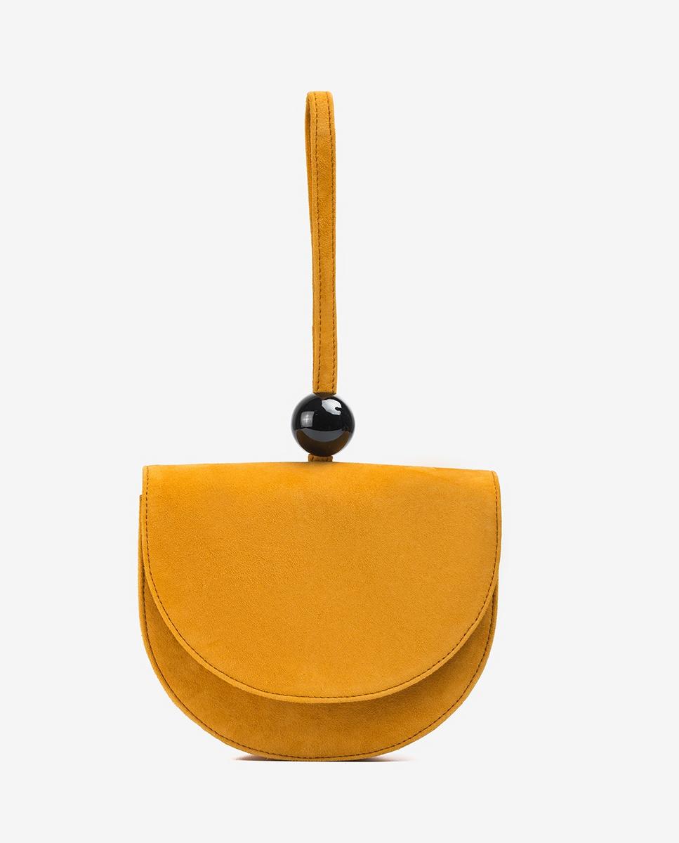 UNISA Handbag with bracelet ZANICE_KS mustard 2