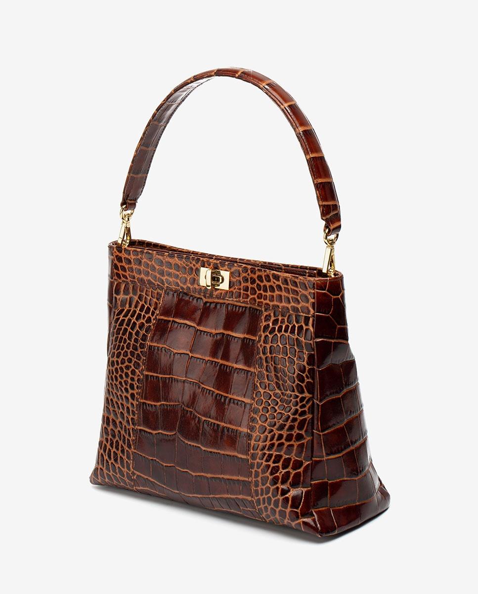 UNISA Croc effect leather handbag ZMOUSSI_LAO wonka 2