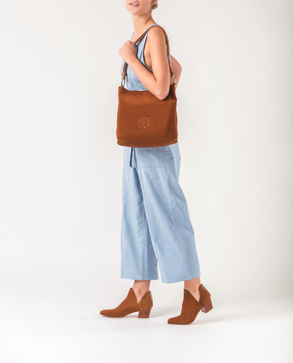UNISA Monogram shoulder bag ZREDA_BM_CAN cuir 2