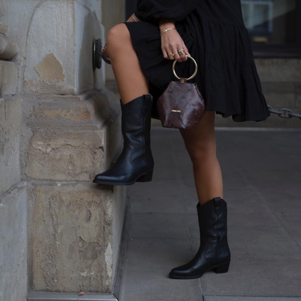 Unisa Boots GLADIS_F20_CRE black