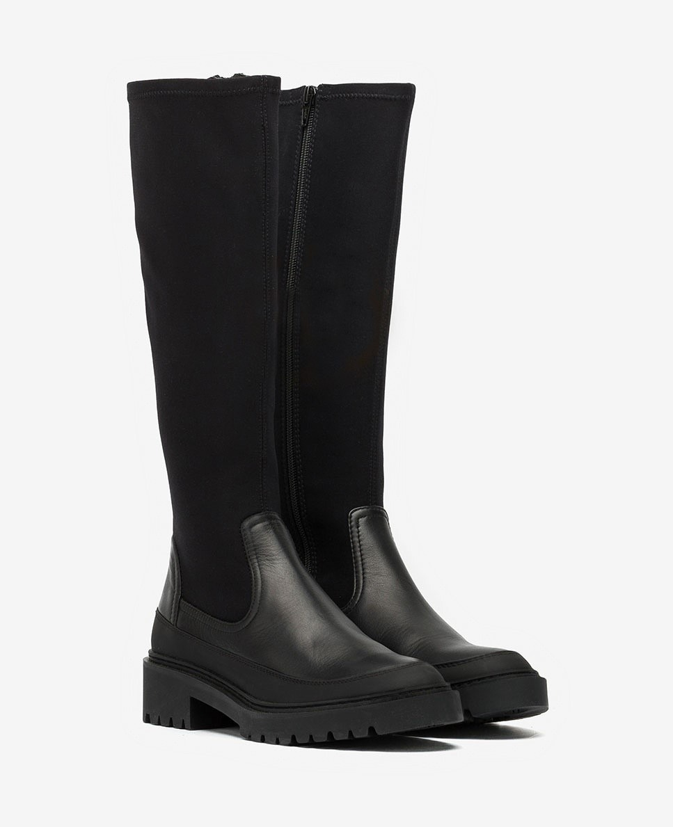 Unisa Boots GUIMPU_NF_SCU black