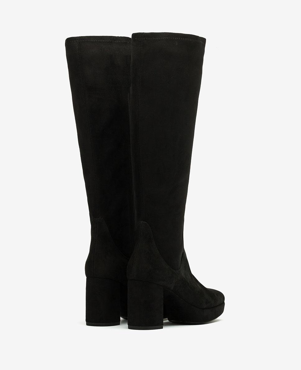 UNISA 70s elastic boots MIND_ST black 2