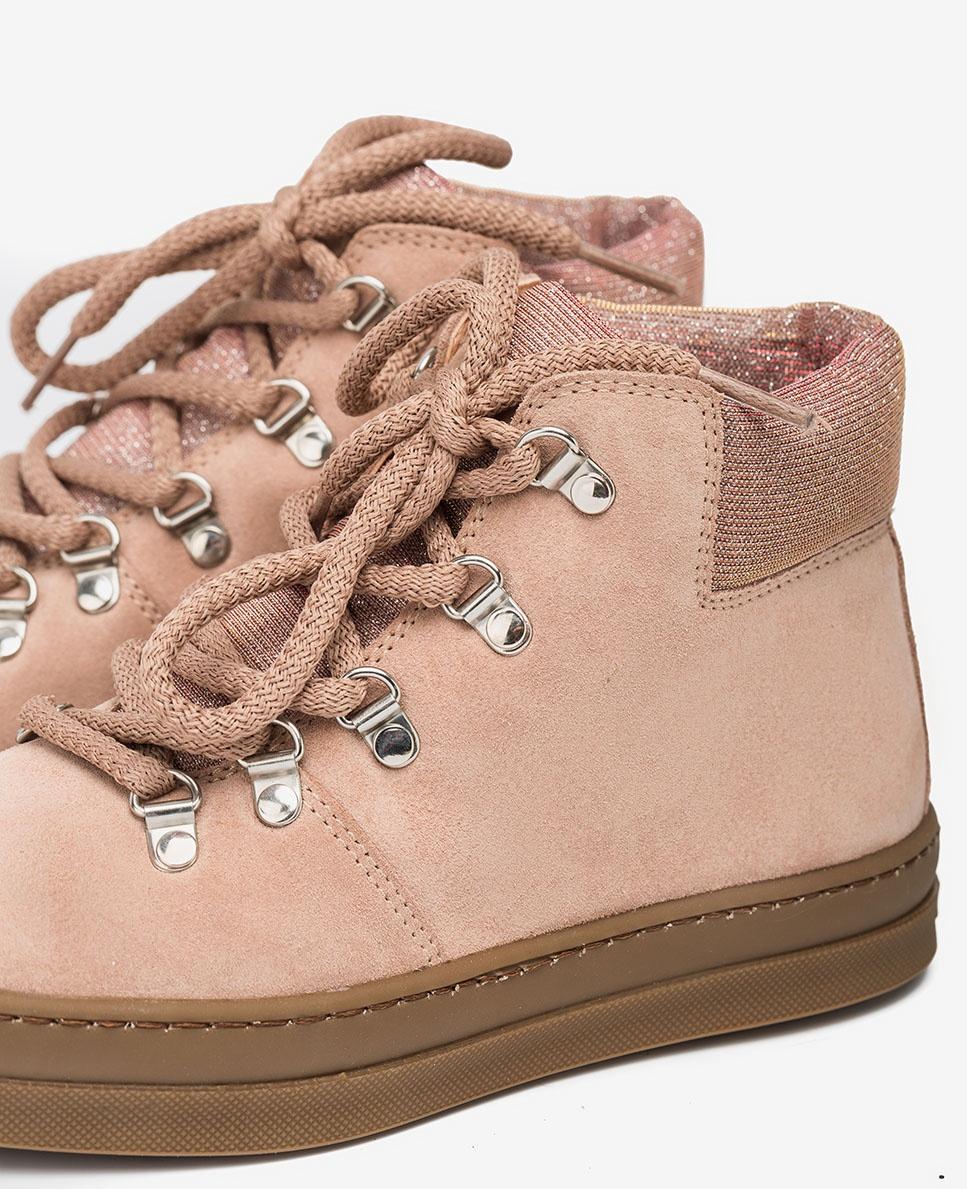 UNISA Pink hiking booties ALISE_F20_BS roxe 2