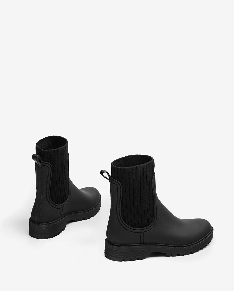 Unisa Ankle boots AYNAR_21_RIB black