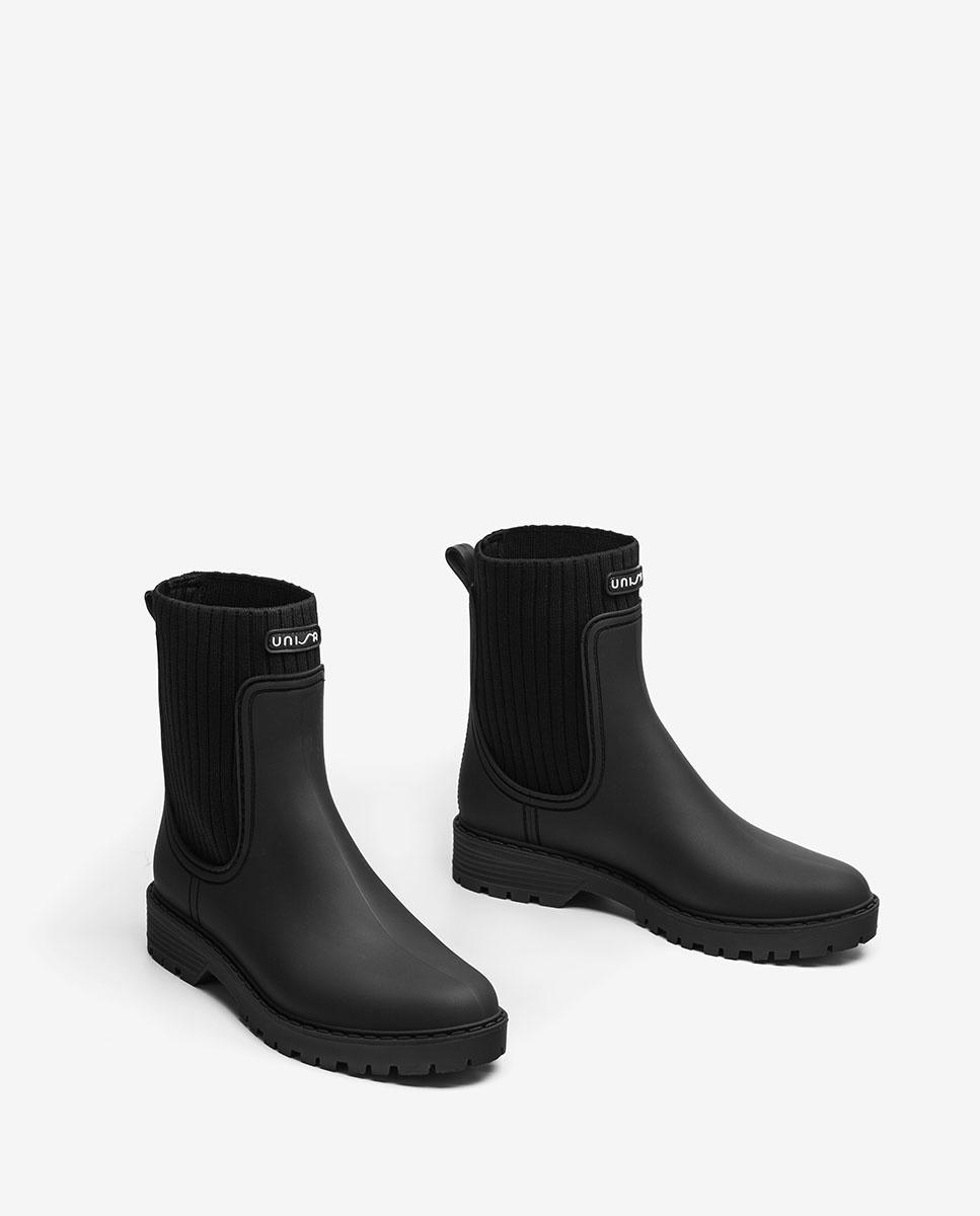 Unisa Ankle boots AYNAR_RIB black