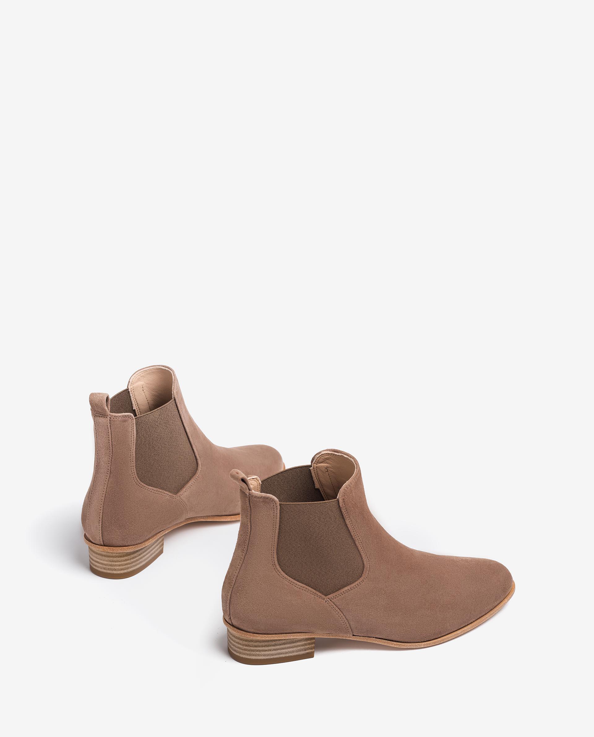 UNISA Kid suede Chelsea ankle boots BAILON_KS 2