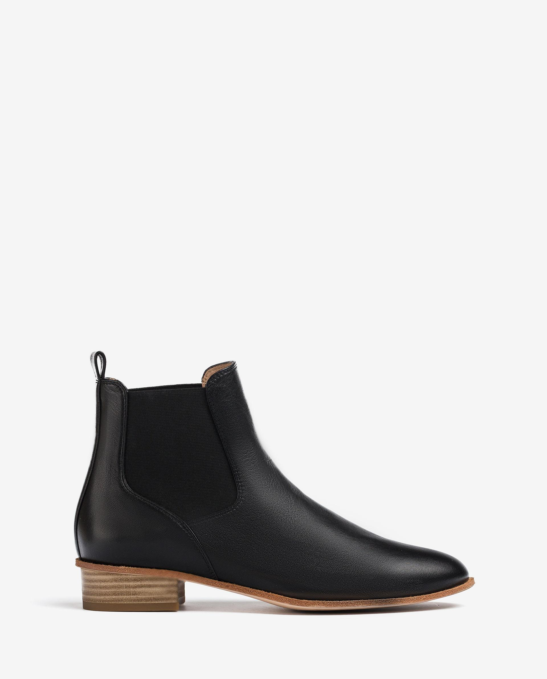 UNISA Pointy toe leather ankle boots BAILON_VU 2