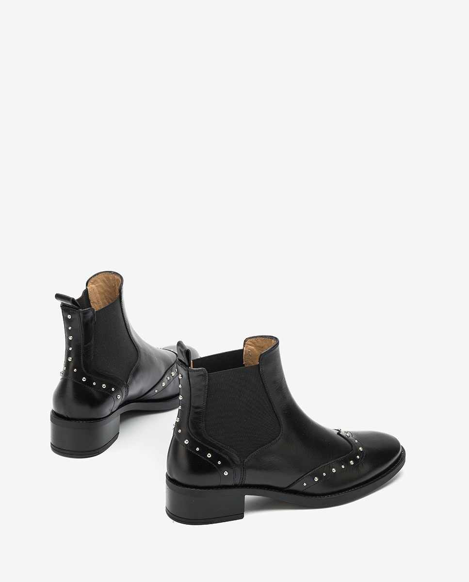 UNISA Studs Chelsea ankle boots EFRAIN_F20_NE black 2