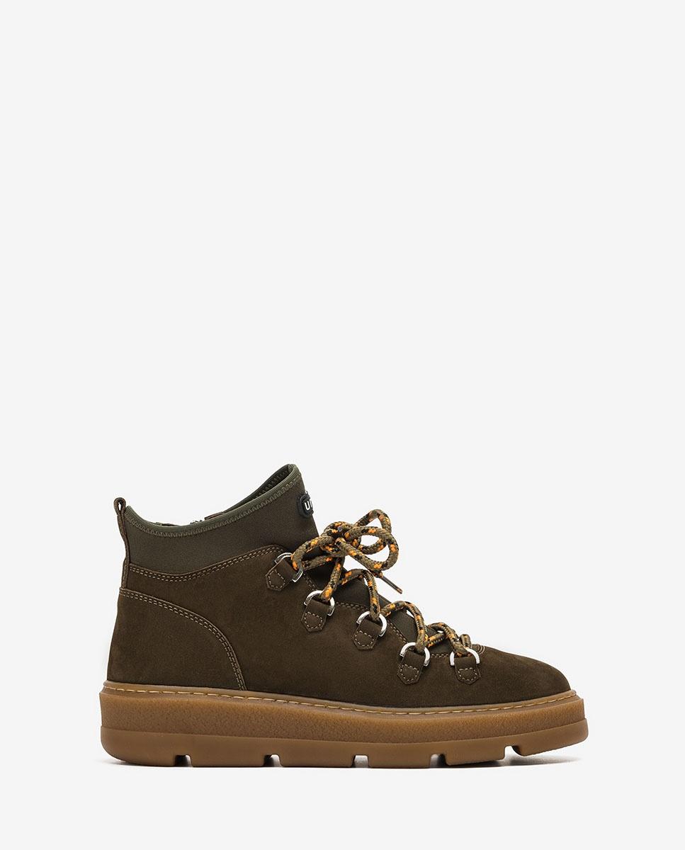 UNISA Green hiking ankle boots for women FEISER_BLU hunter 2