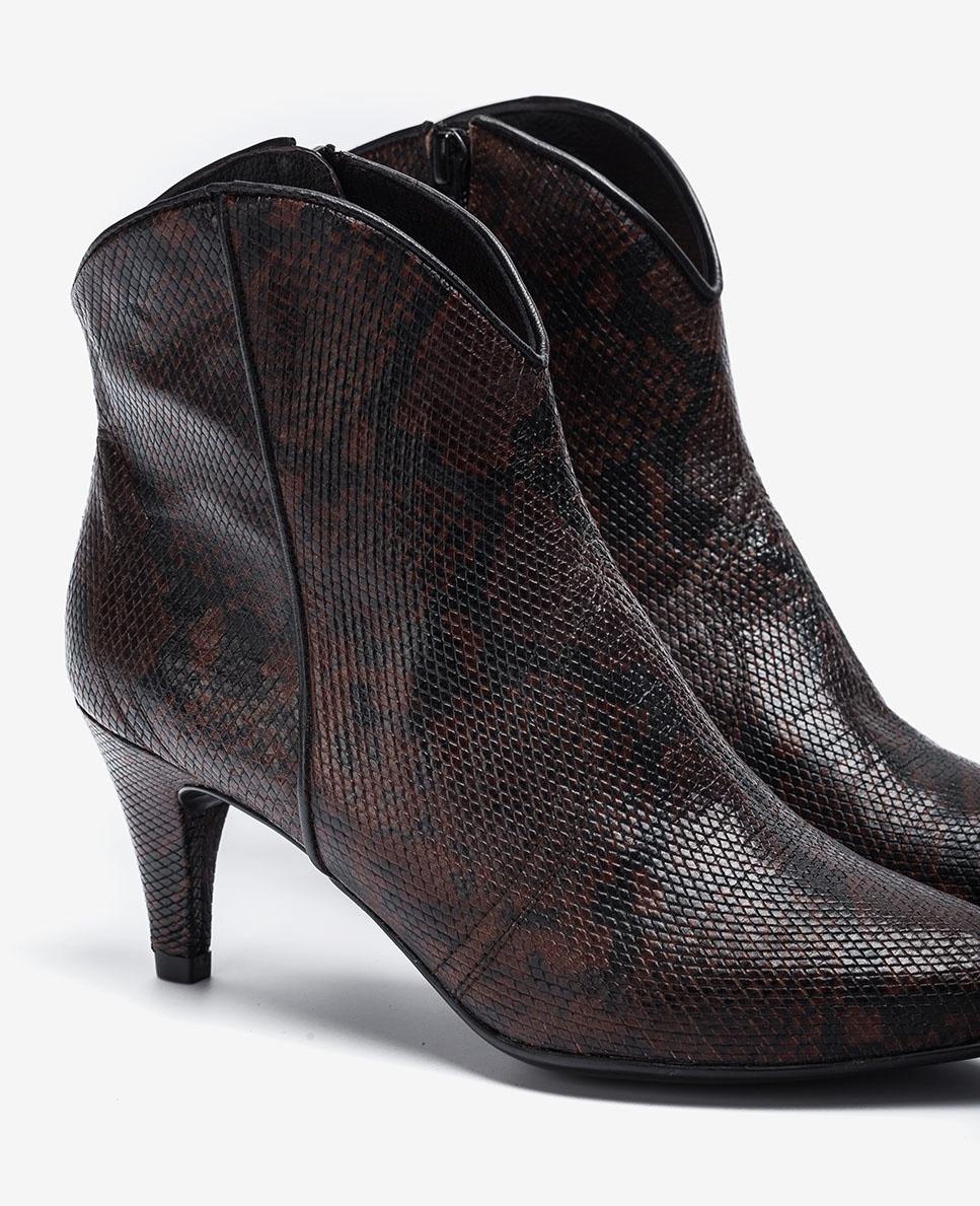 UNISA Snake Cowboy ankle boots KAITLYN_VIP fondant 2