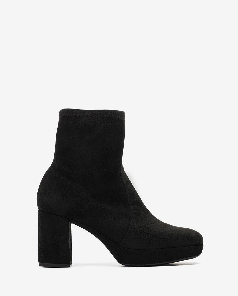 UNISA 70s stretch ankle boots MAHALI_STL black 2