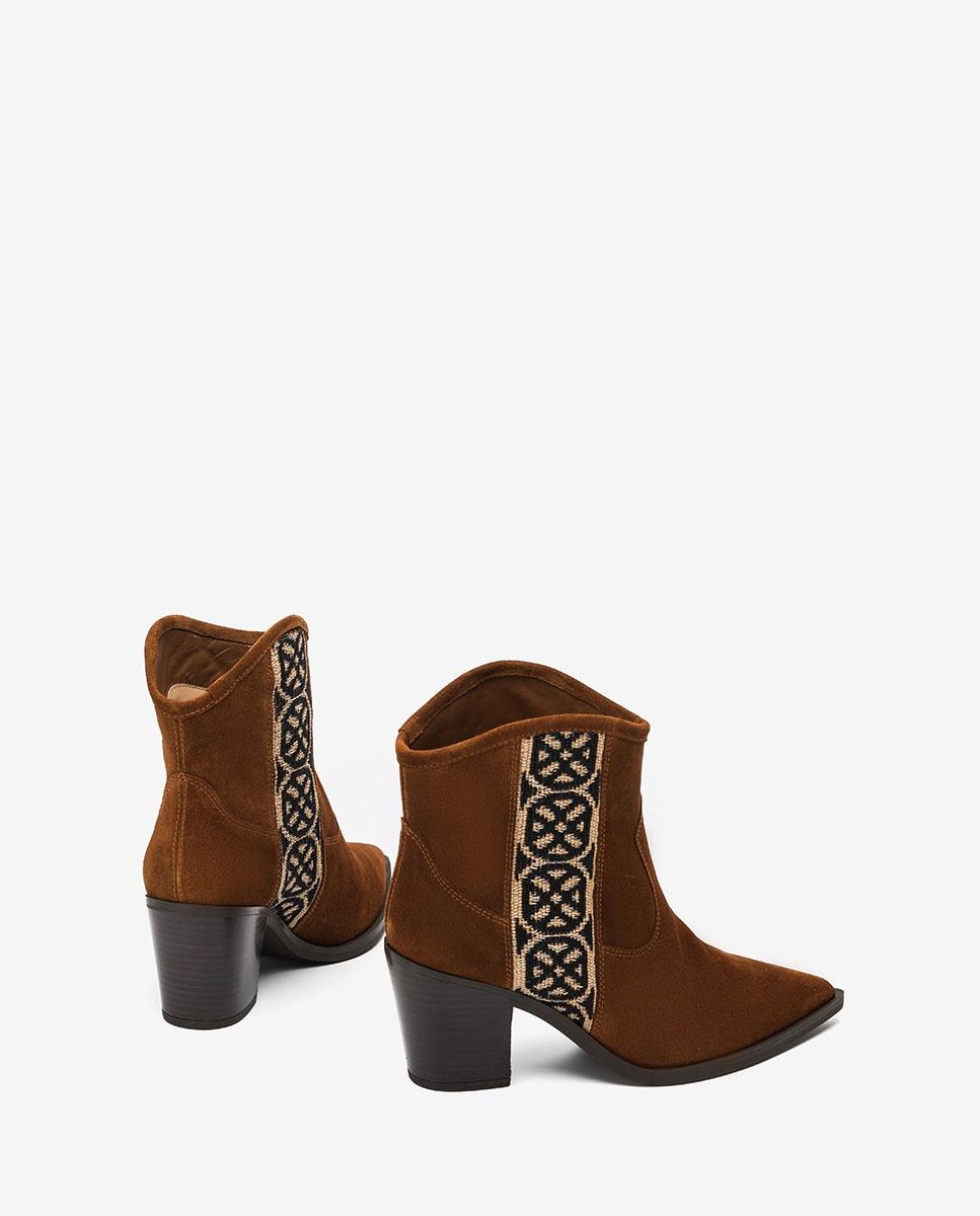 UNISA Monogram cowboy ankle boots MANOLO_BS wonka 2