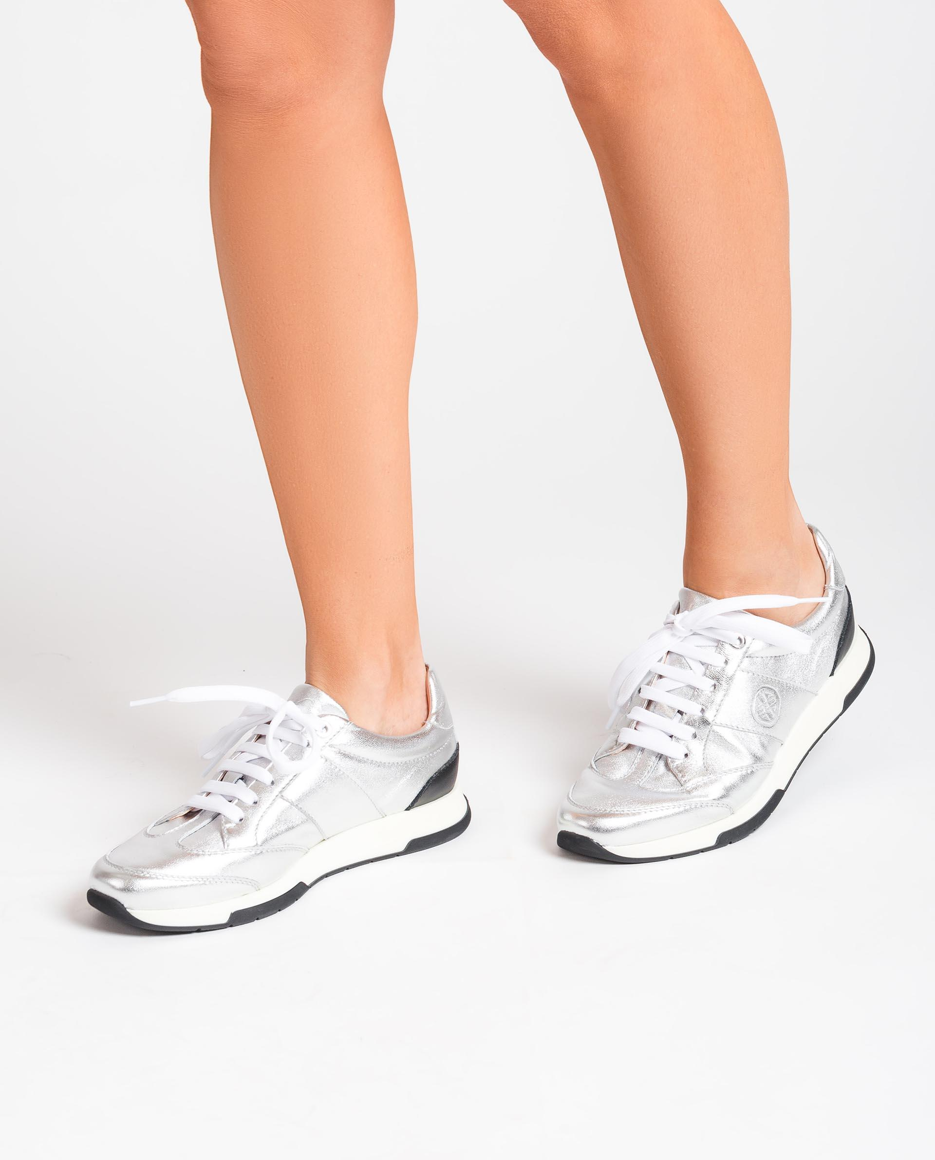 UNISA Shiny effect leather sneakers FALCONI_21_LMT 2