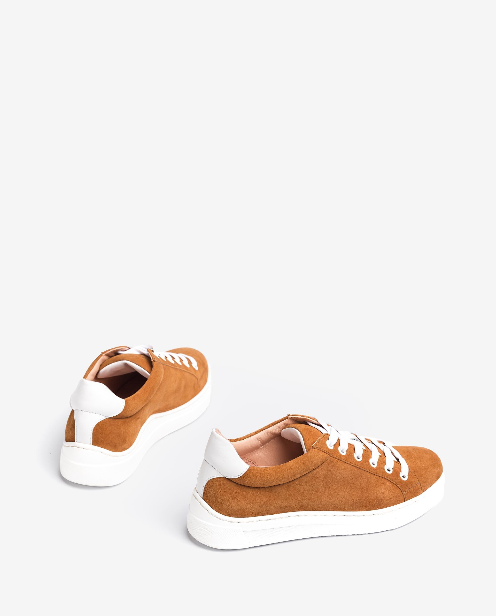 UNISA Leather and kid suede combined sneakers FASNIA_KS_NF 2