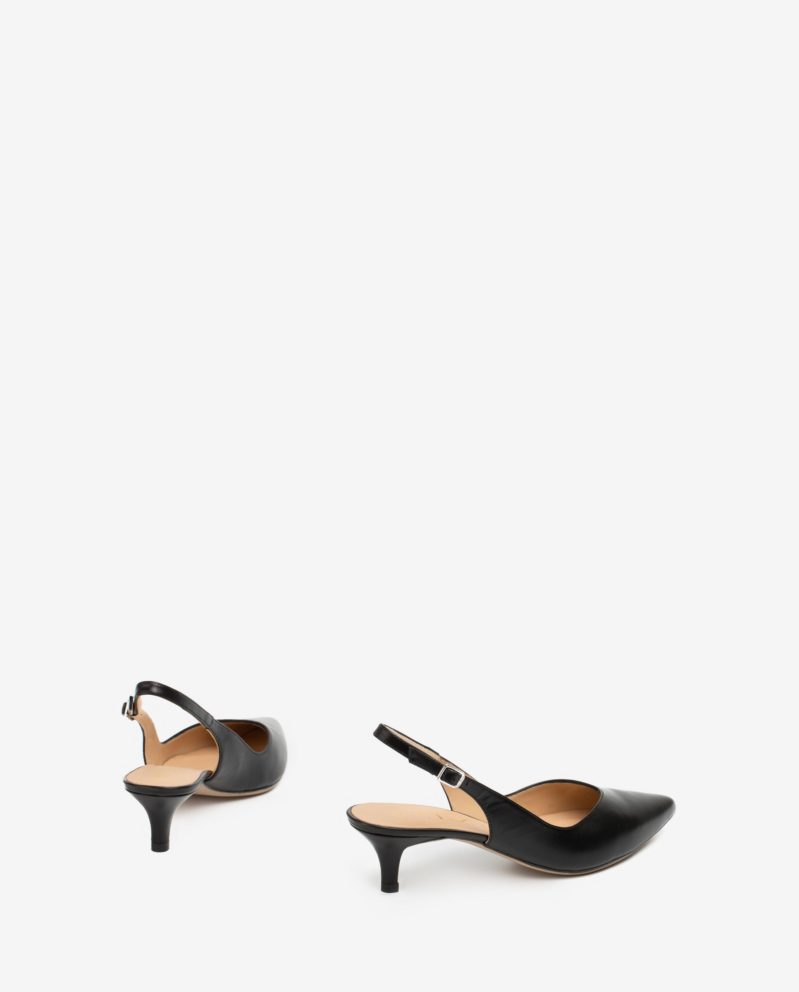 UNISA Pointy toe slingbacks V décolleté JIBARRA_NA black 2
