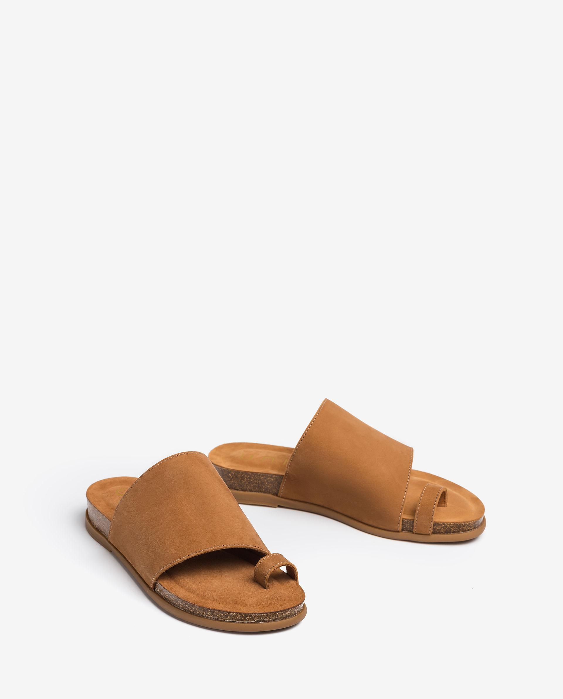 UNISA Bio thong sandals CALESIN_21_BLU 2