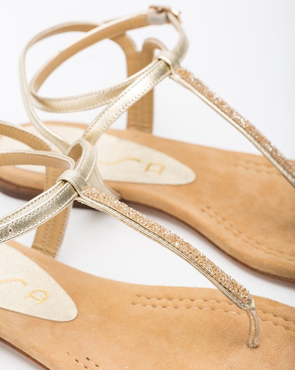 Unisa Toe post sandals CHARLE_20_LMT platino