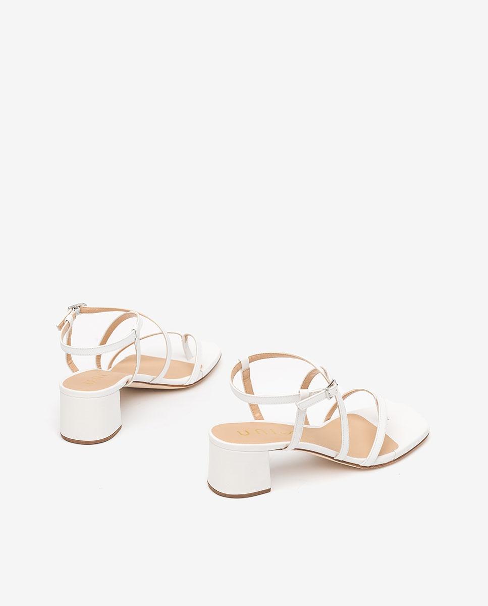 Unisa Toe post sandals KEKE_NA white