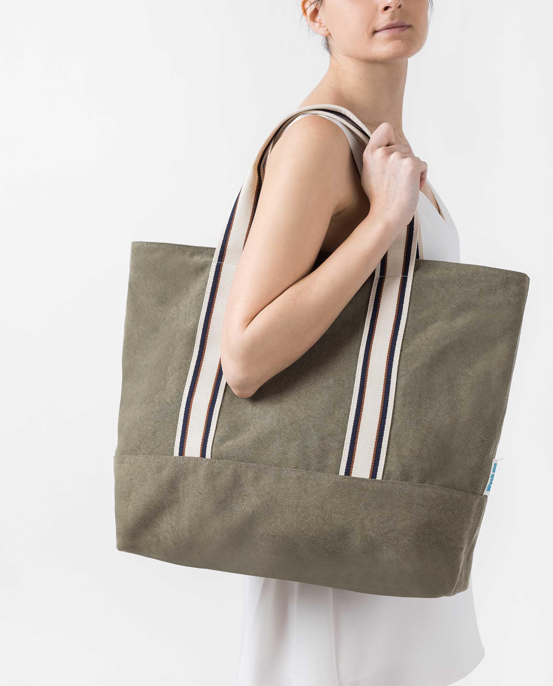 UNISA EcoLino bag with sport handle ZSYBIL_ECL 2