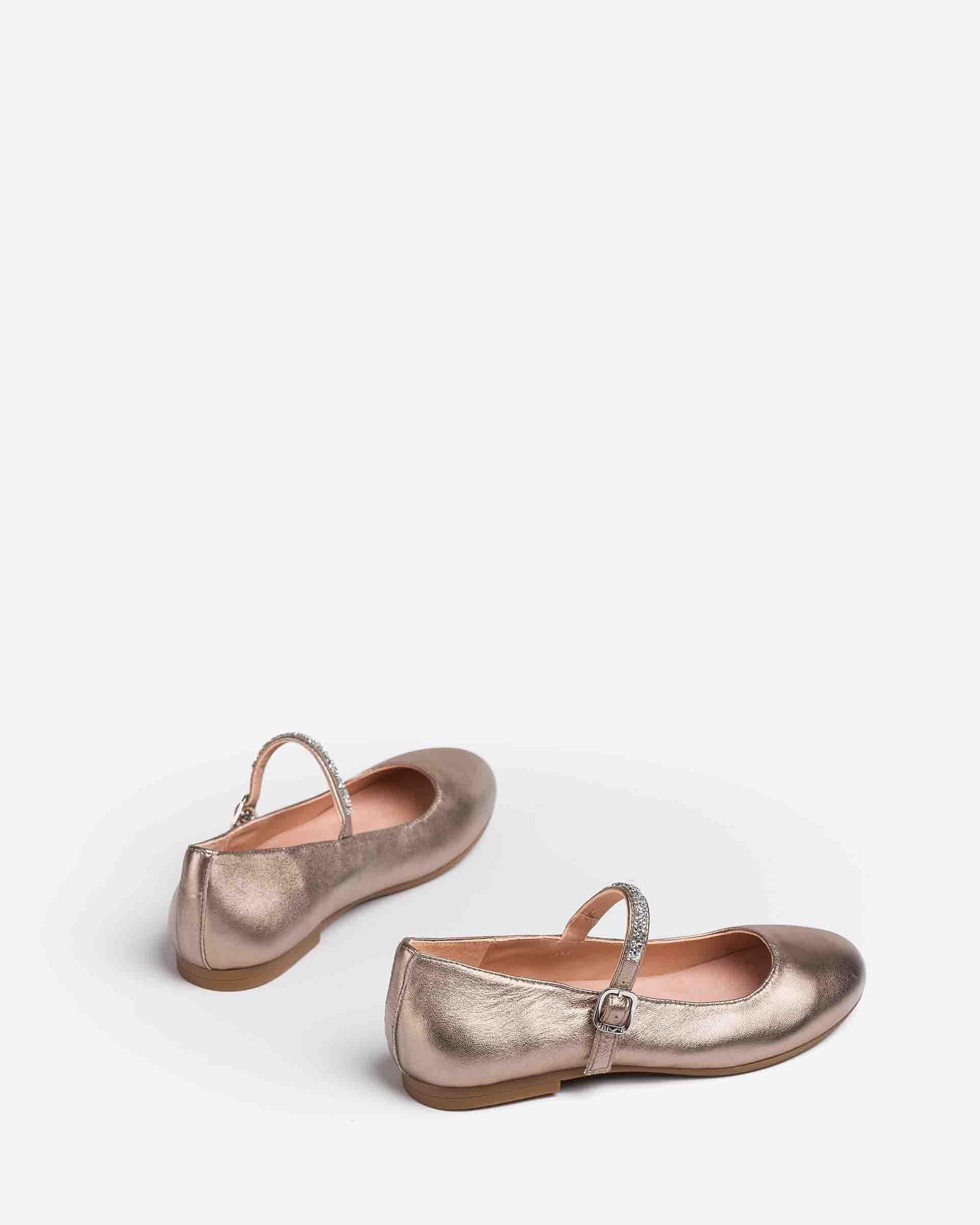 UNISA Little girl´s metallic Mary Jane shoes CLERVY_21_LMT 2