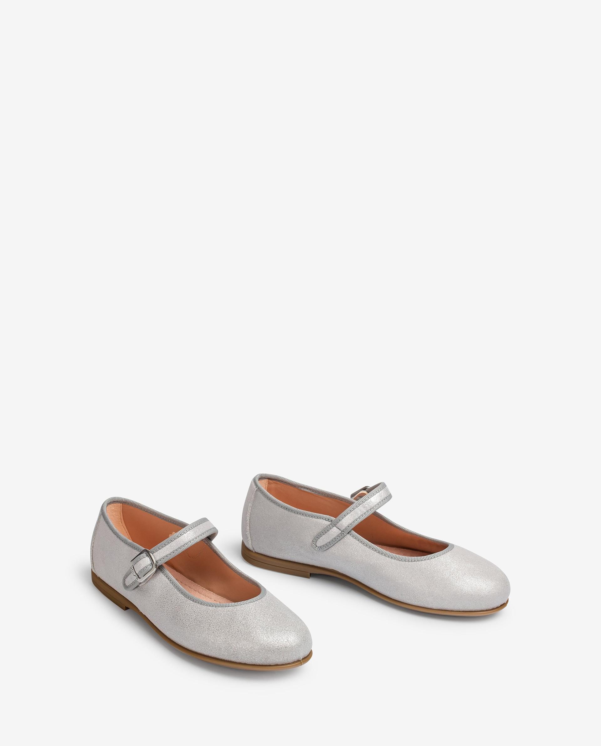 UNISA Little girl´s metal effect leather Mary Jane shoes SEYLA_21_MTS 2