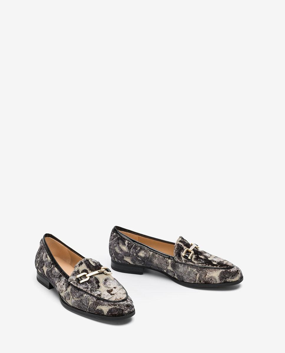 UNISA Fabric loafers DAIMIEL_F20_VIN antracita 2