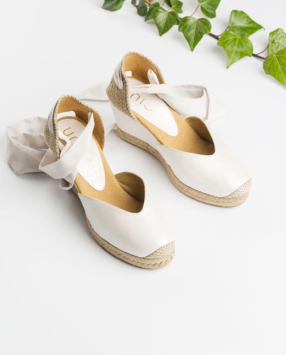 UNISA Bride lacing espadrilles CHUFY_NA_N bone 2
