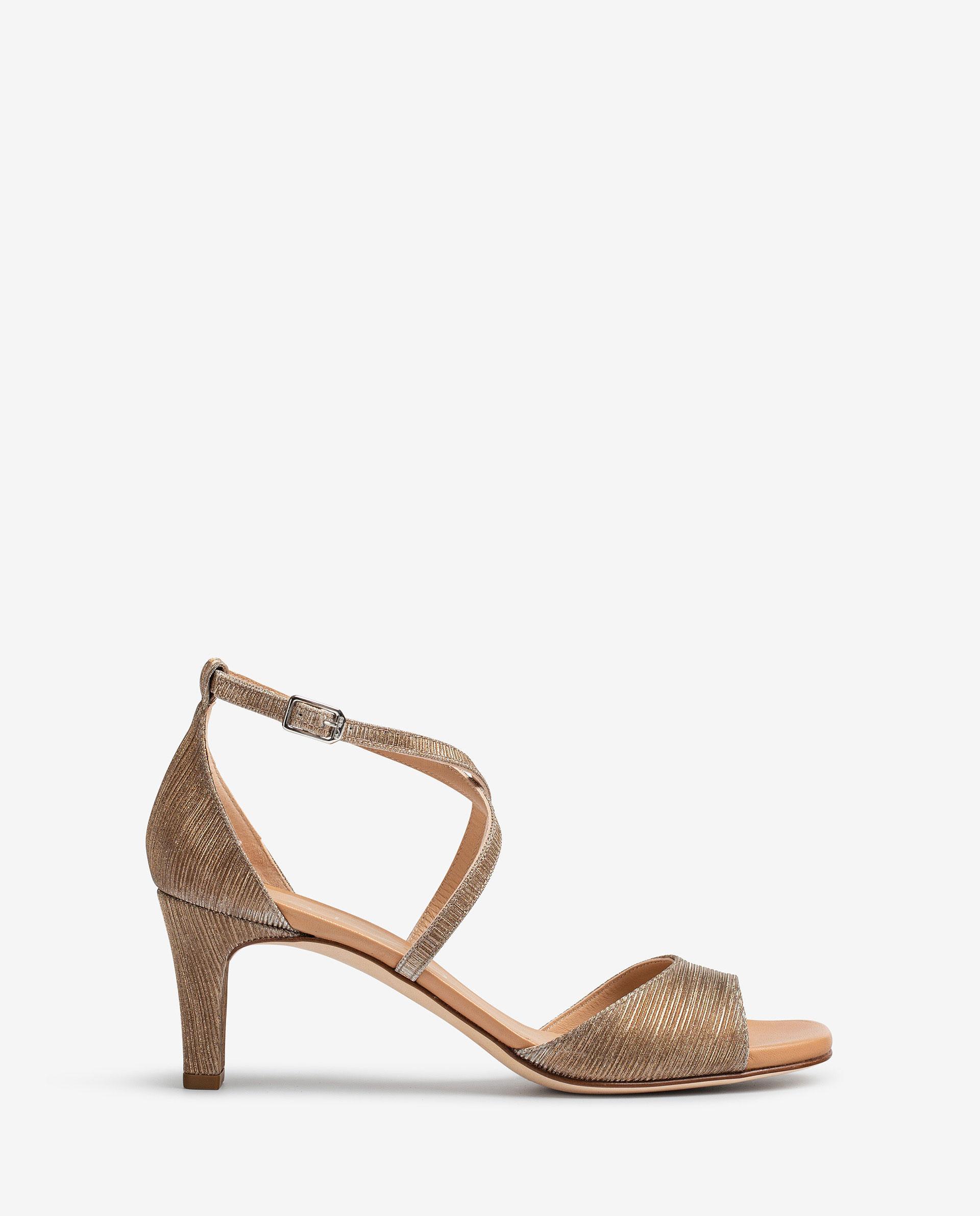 UNISA Shiny effect sandals MOPU_RAD 2