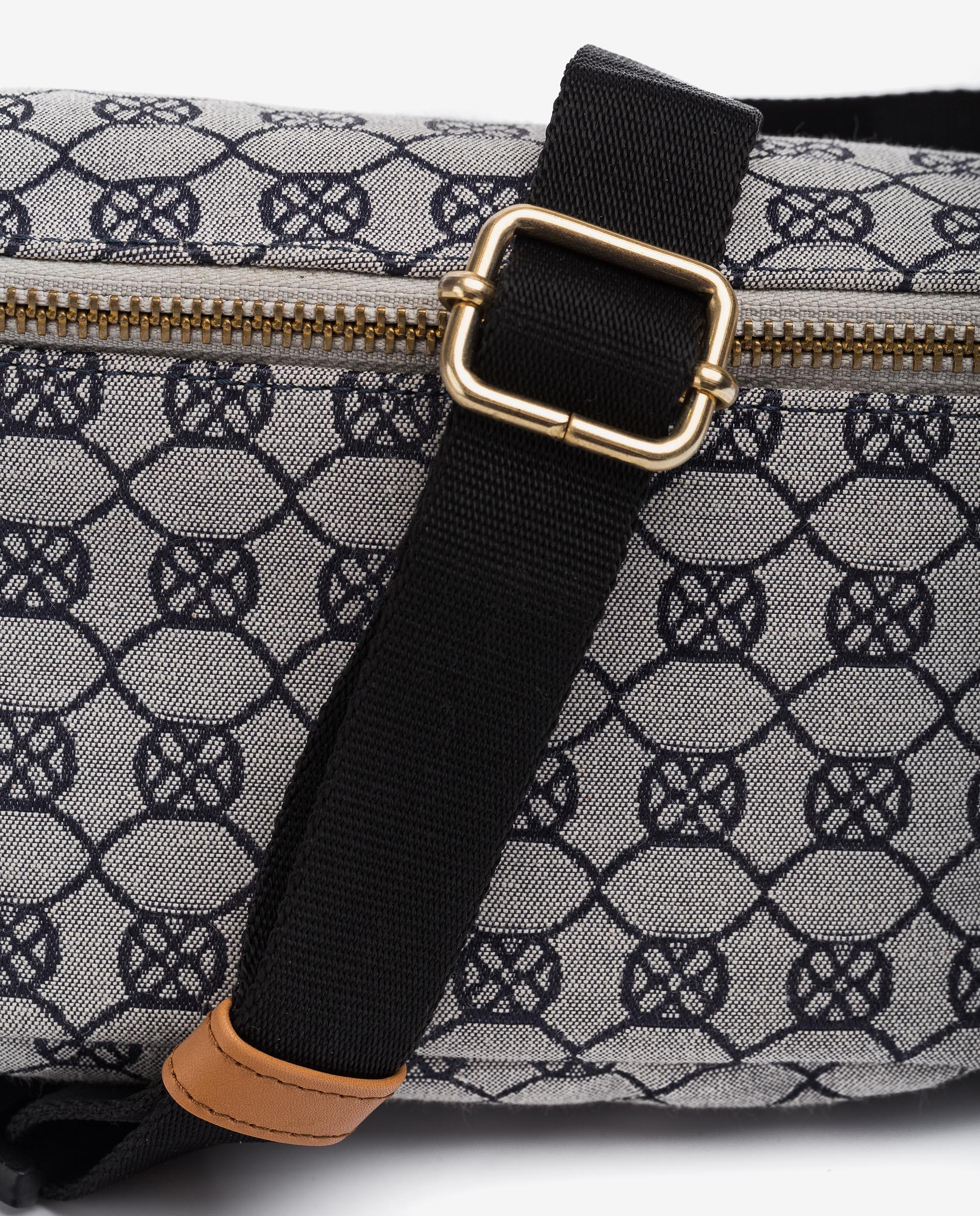 UNISA Fabric belt bag with monogram ZDUOMO_21_JAC 2