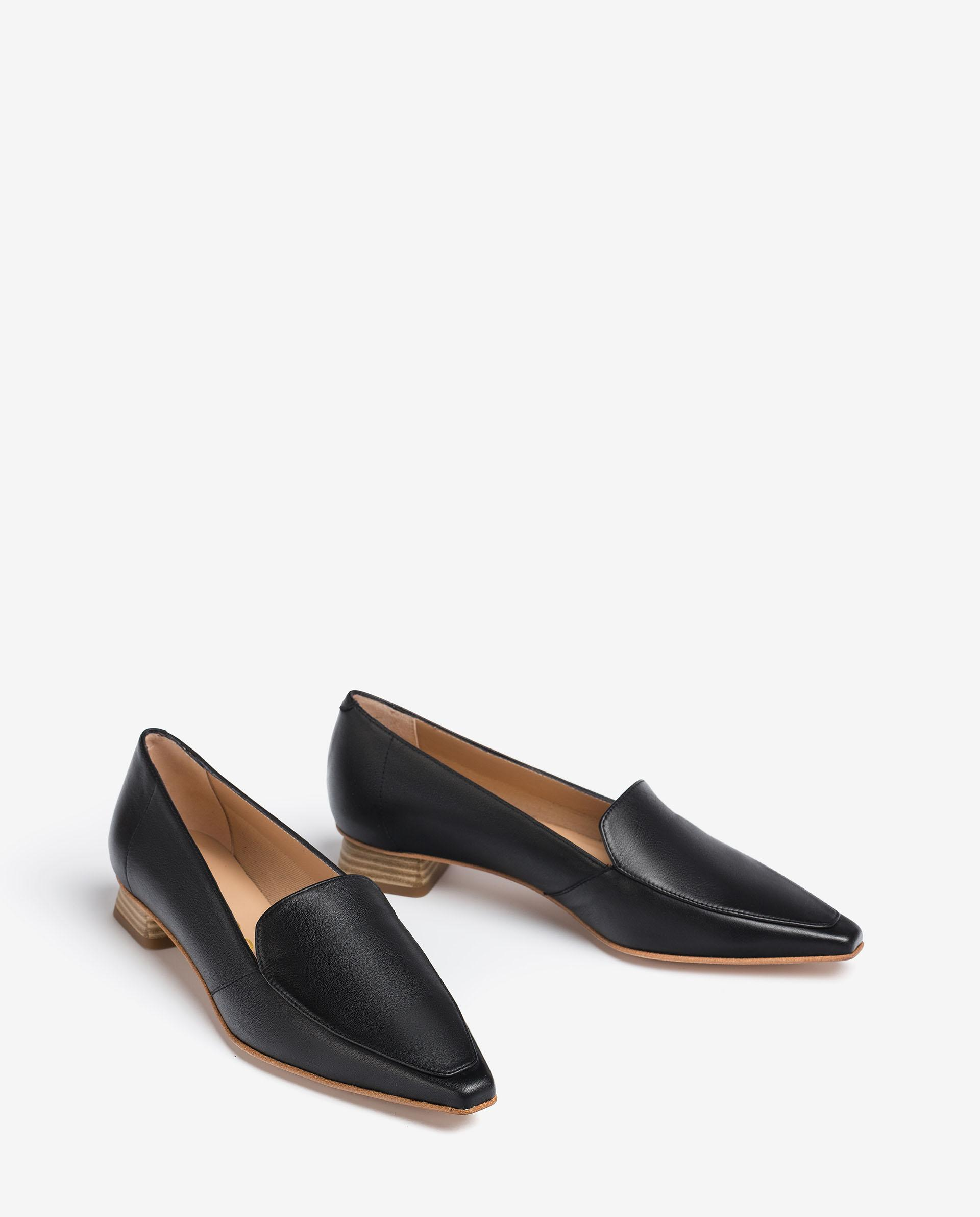 UNISA Leather loafers with fabric lining GEGAL_MOA 2