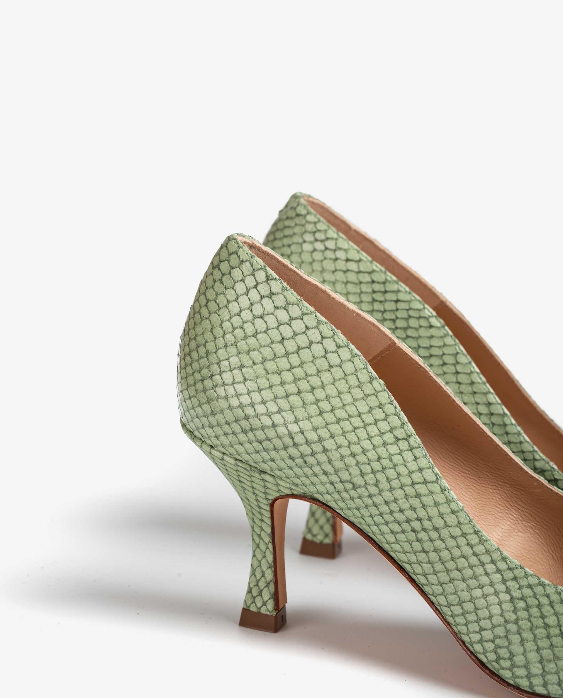 UNISA Snake effect leather pumps LARRAUN_NEF 2