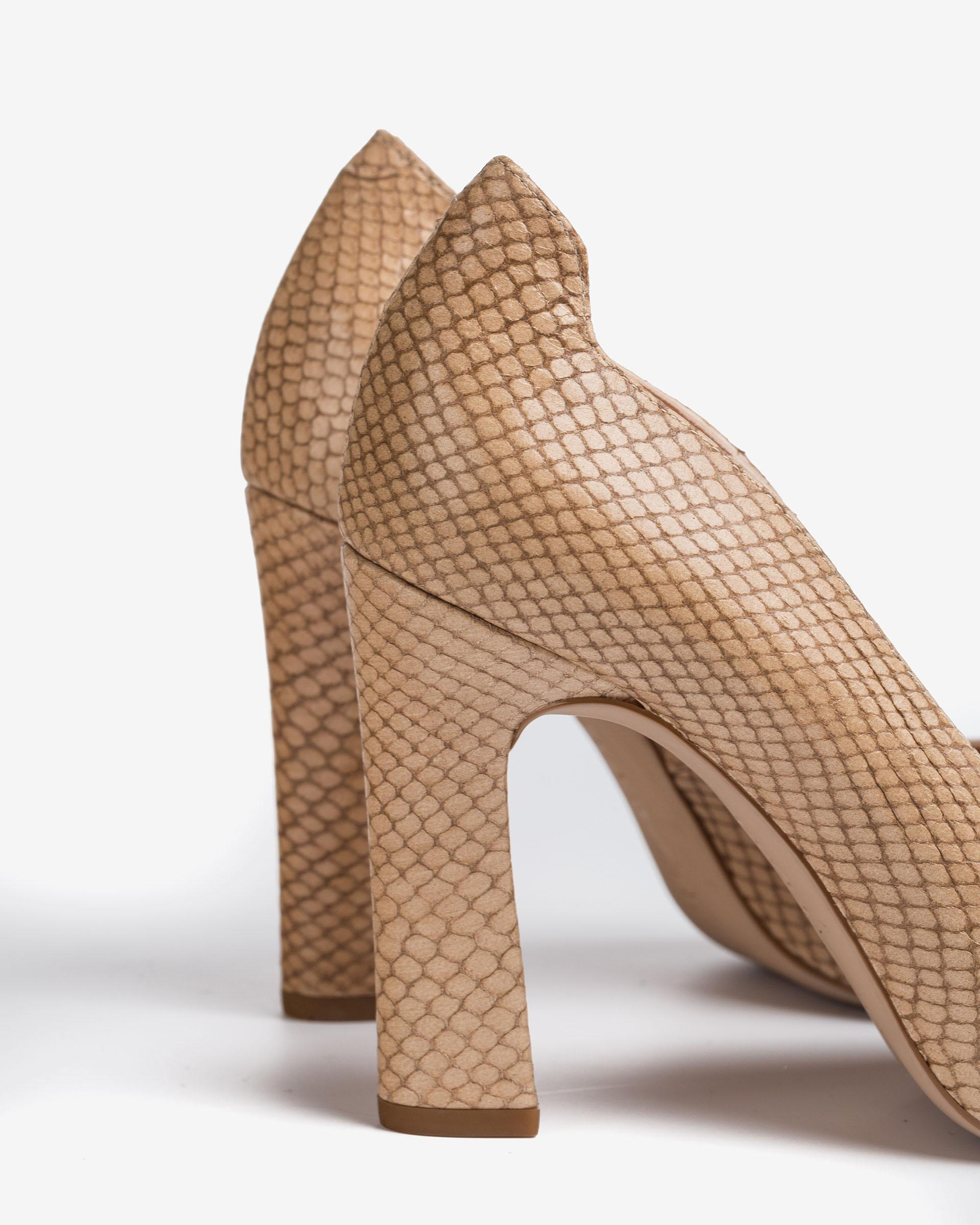 UNISA Snake effect leather pumps PASCUAL_21_NEF 2