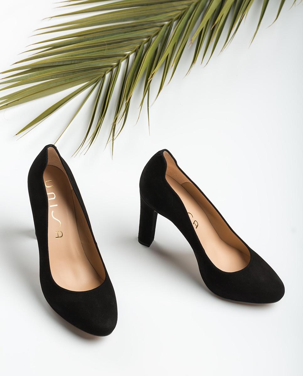 UNISA Black high heel pumps PASCUAL_KS black 2