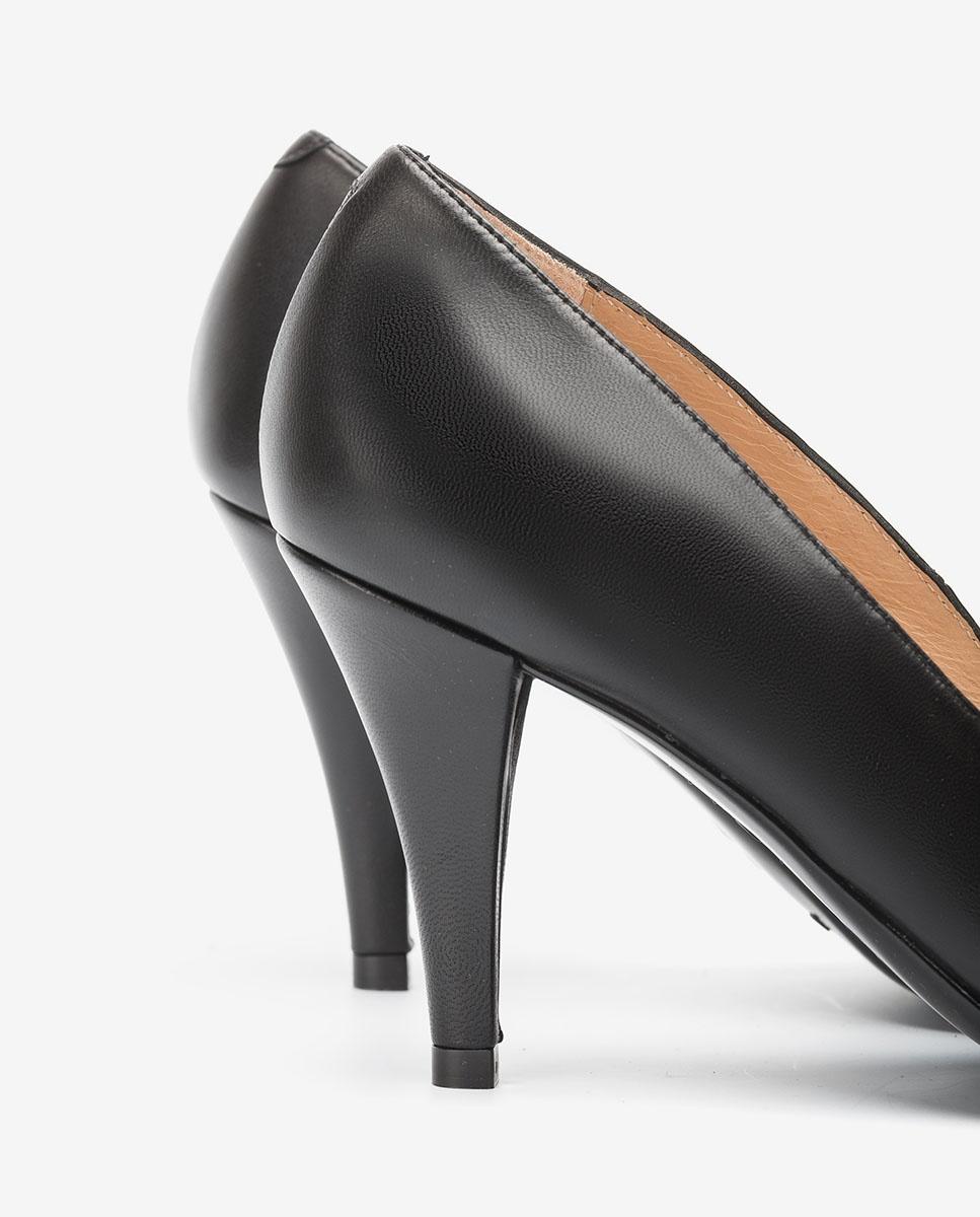 UNISA Black pumps sqare cut top line TANELI_NA black 2