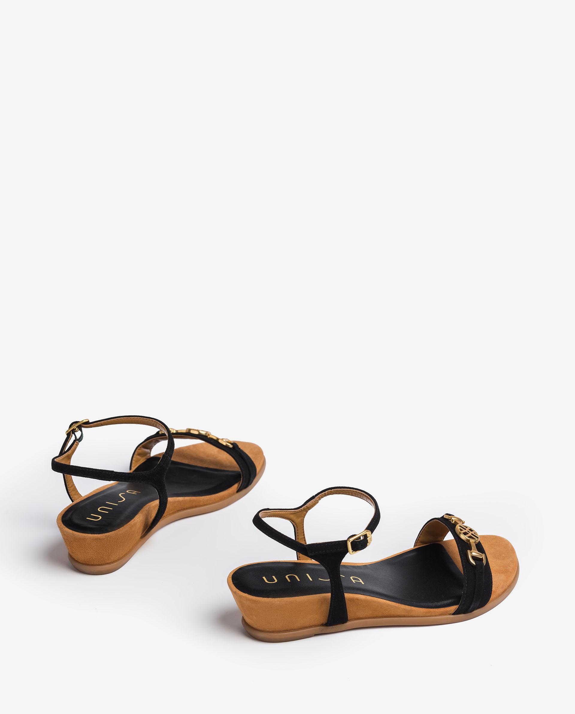 UNISA Thong sandals with monogram detail BENAFER_KS 2