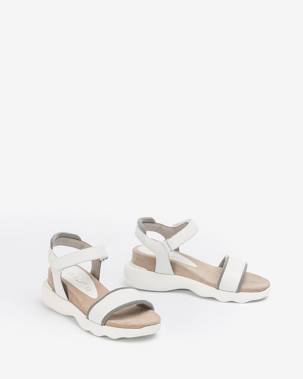 UNISA Contrast sport sandals BOLO_NAT white 2