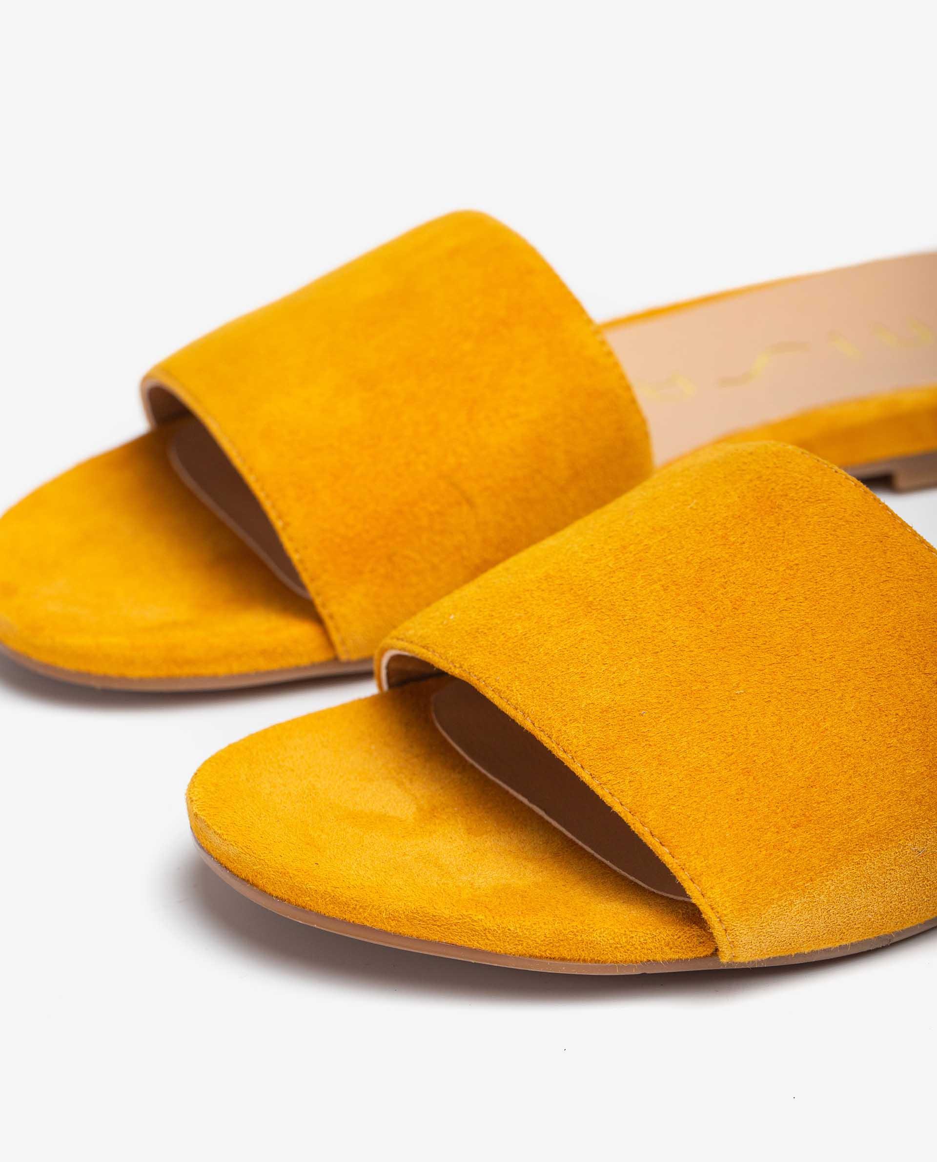 UNISA Flat kid suede thong sandals CADIARSIN_KS 2