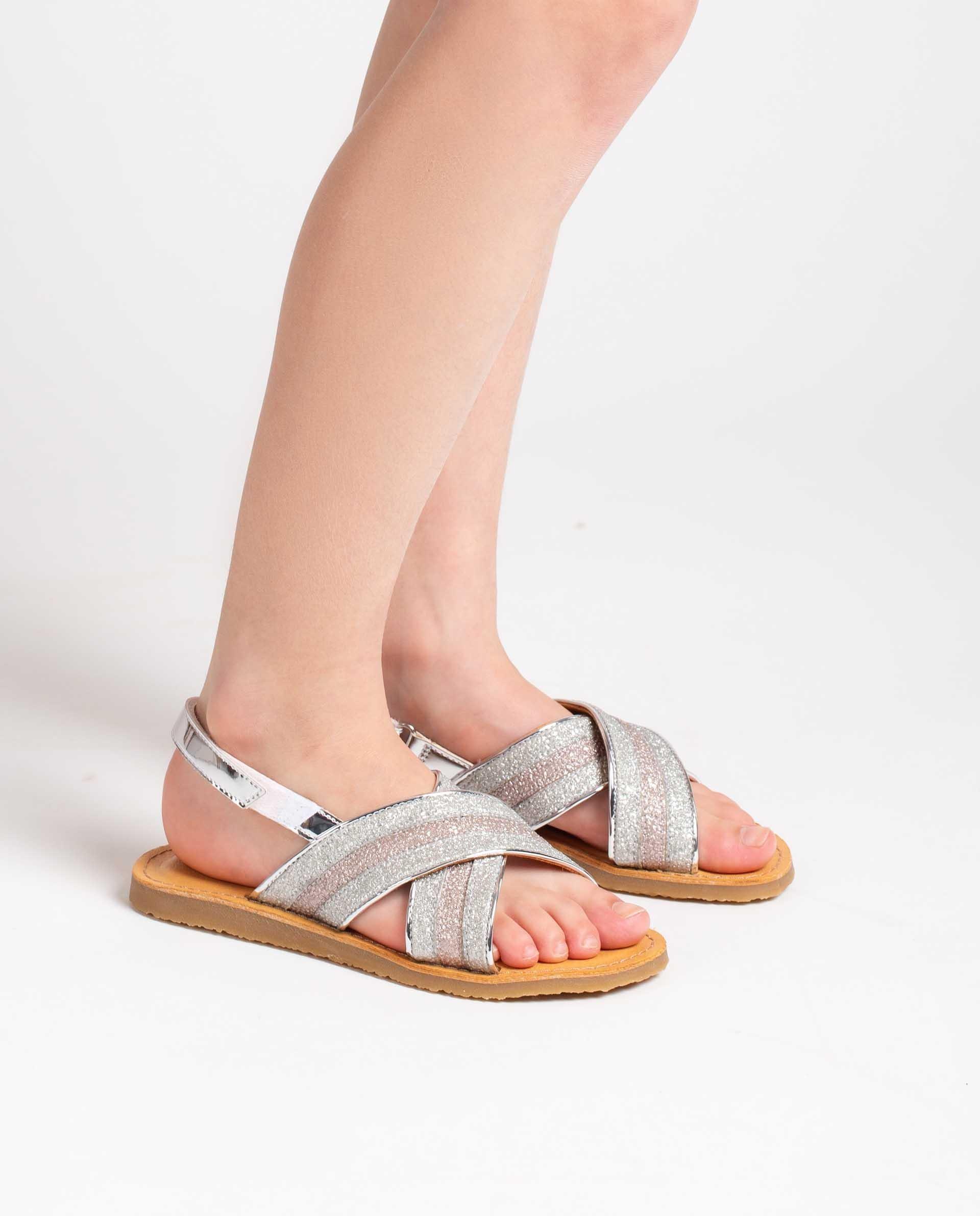 Unisa Sandals GOLETA_BON SILVE/ROSA