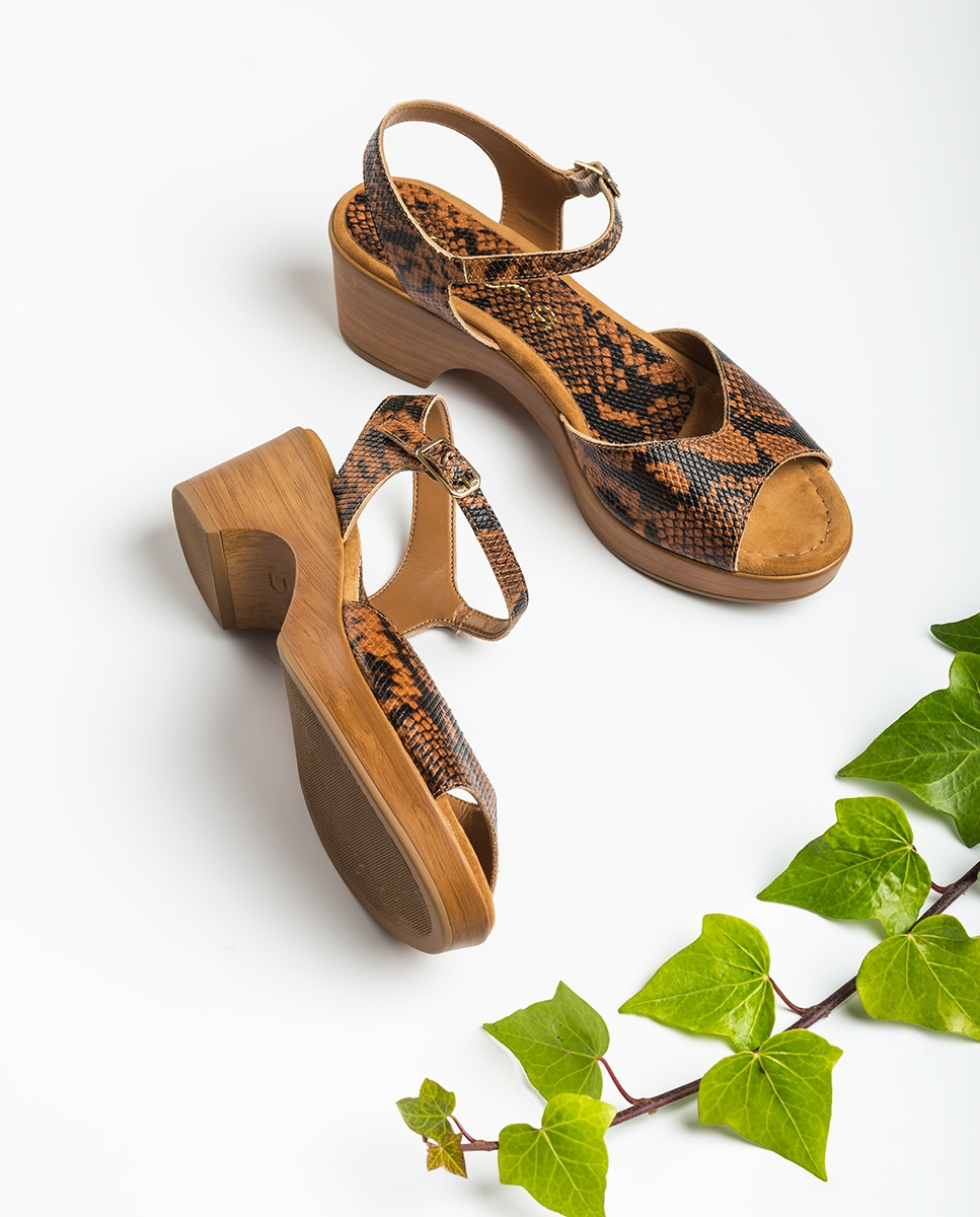 UNISA Snake block sandals ITACA_VIP teka 2