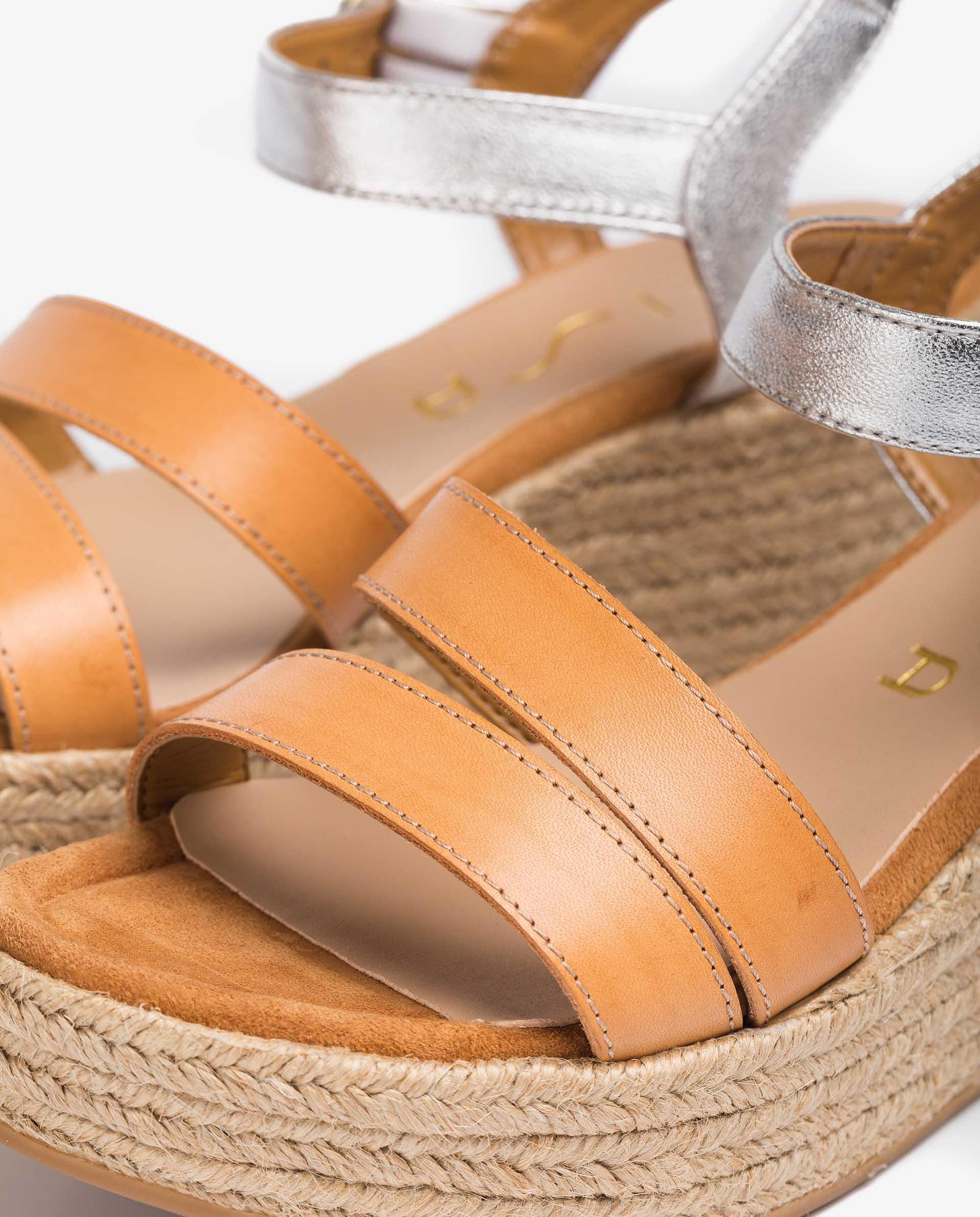 UNISA Materials contrast sandals KEVAR_RAN_LMT 2
