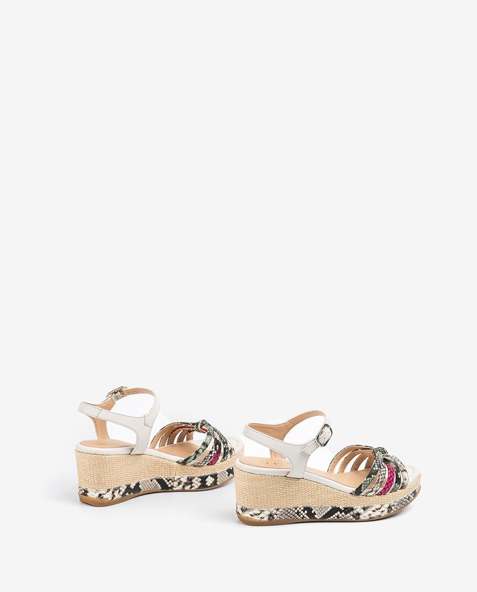 UNISA Multi-strap contrast sandals KIO_VIP_STY nac/min/fu 2