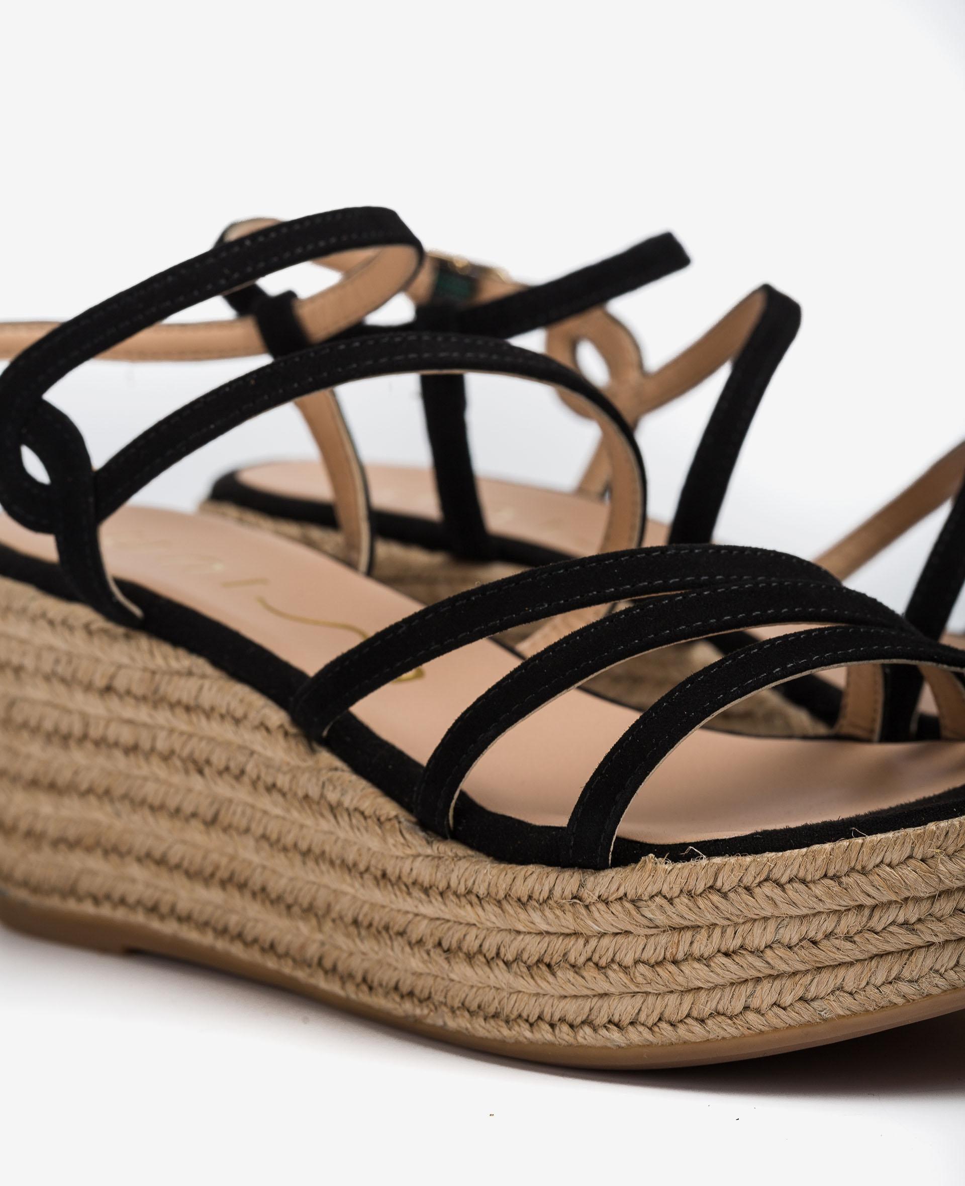 UNISA Thin kid suede straps sandals KYMO_KS 2