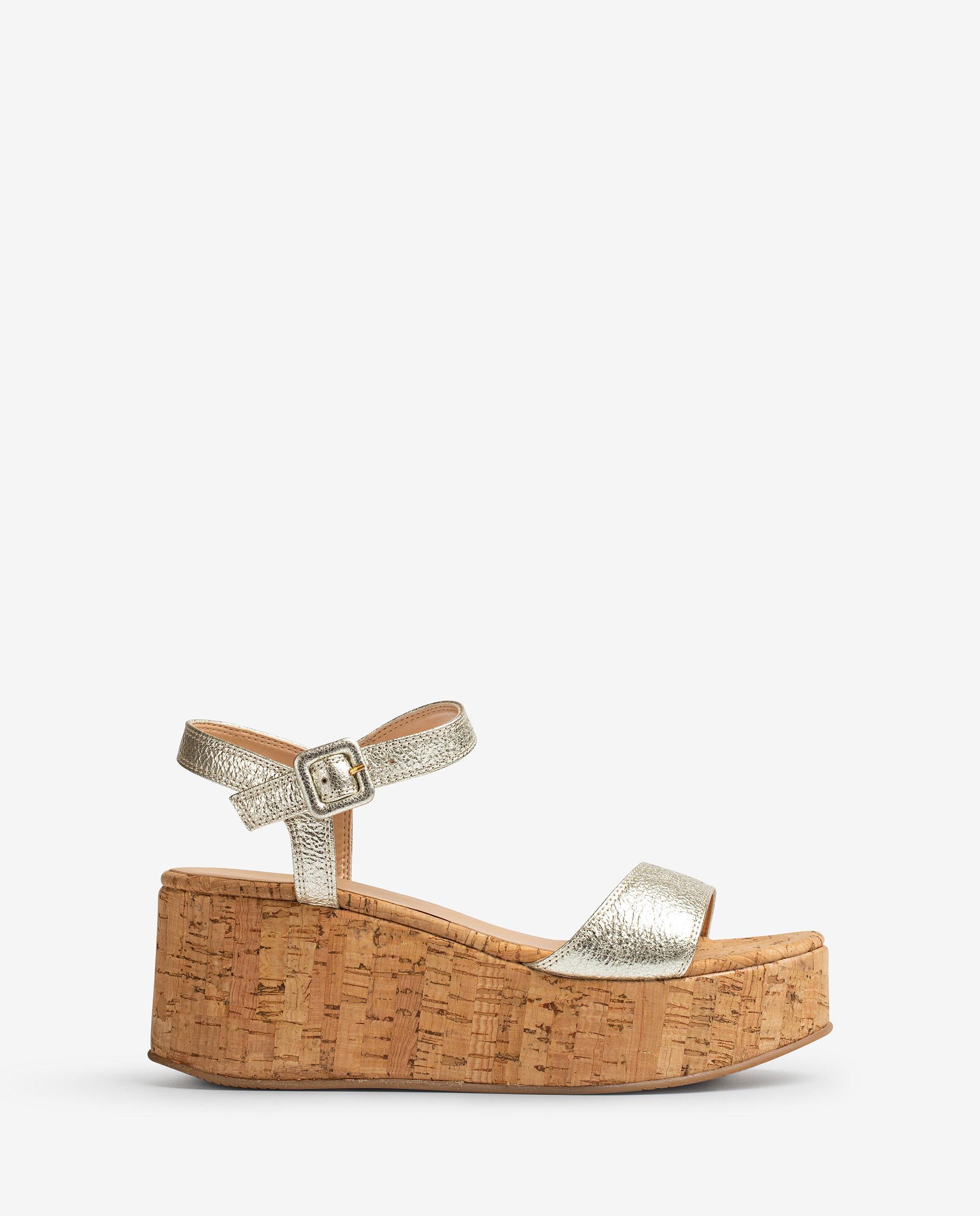 UNISA Shiny effect leather sandals LAIKICO_SE 2