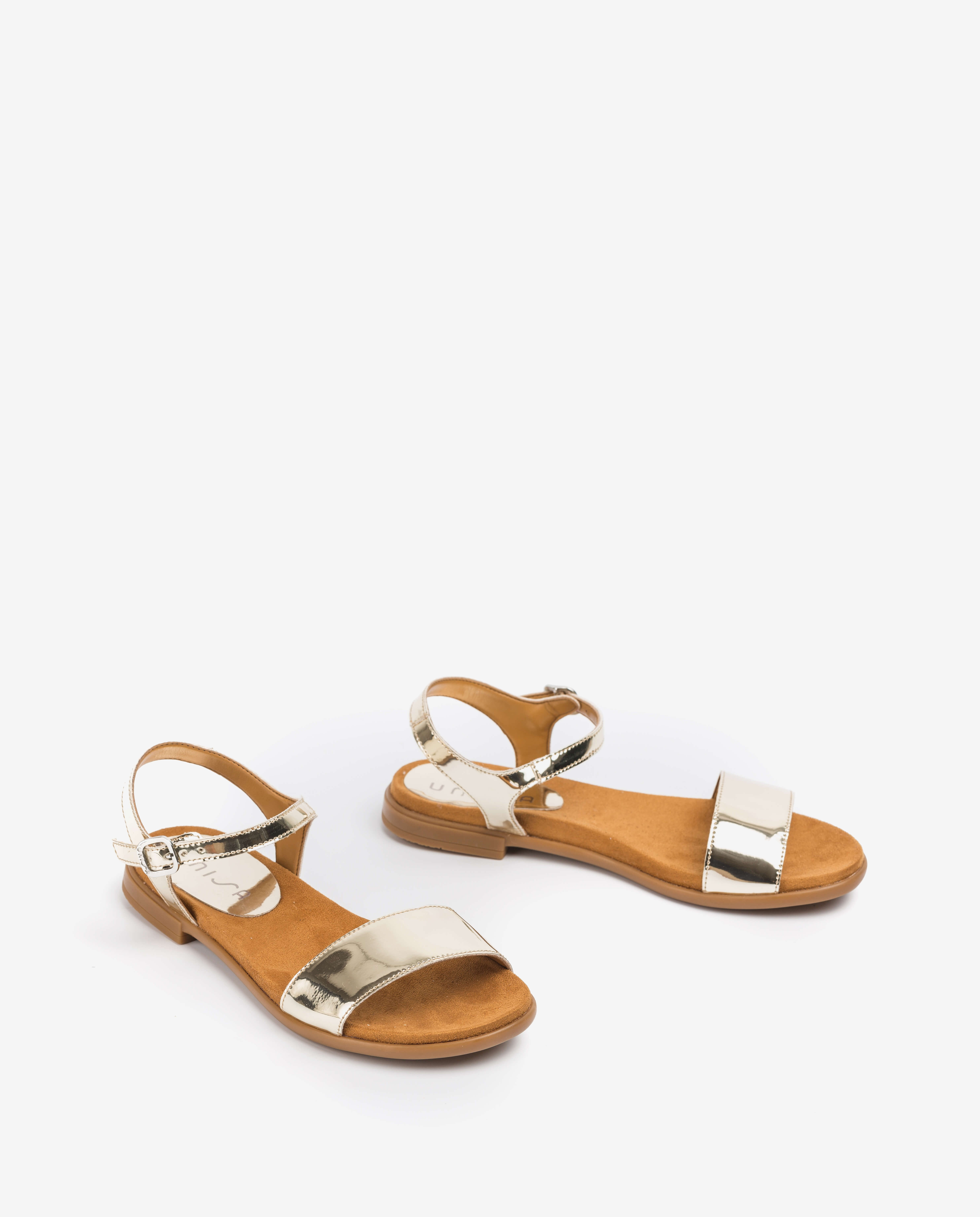 UNISA Little girl silver sandals LIRITA_20_C_SP_CAN platino 2