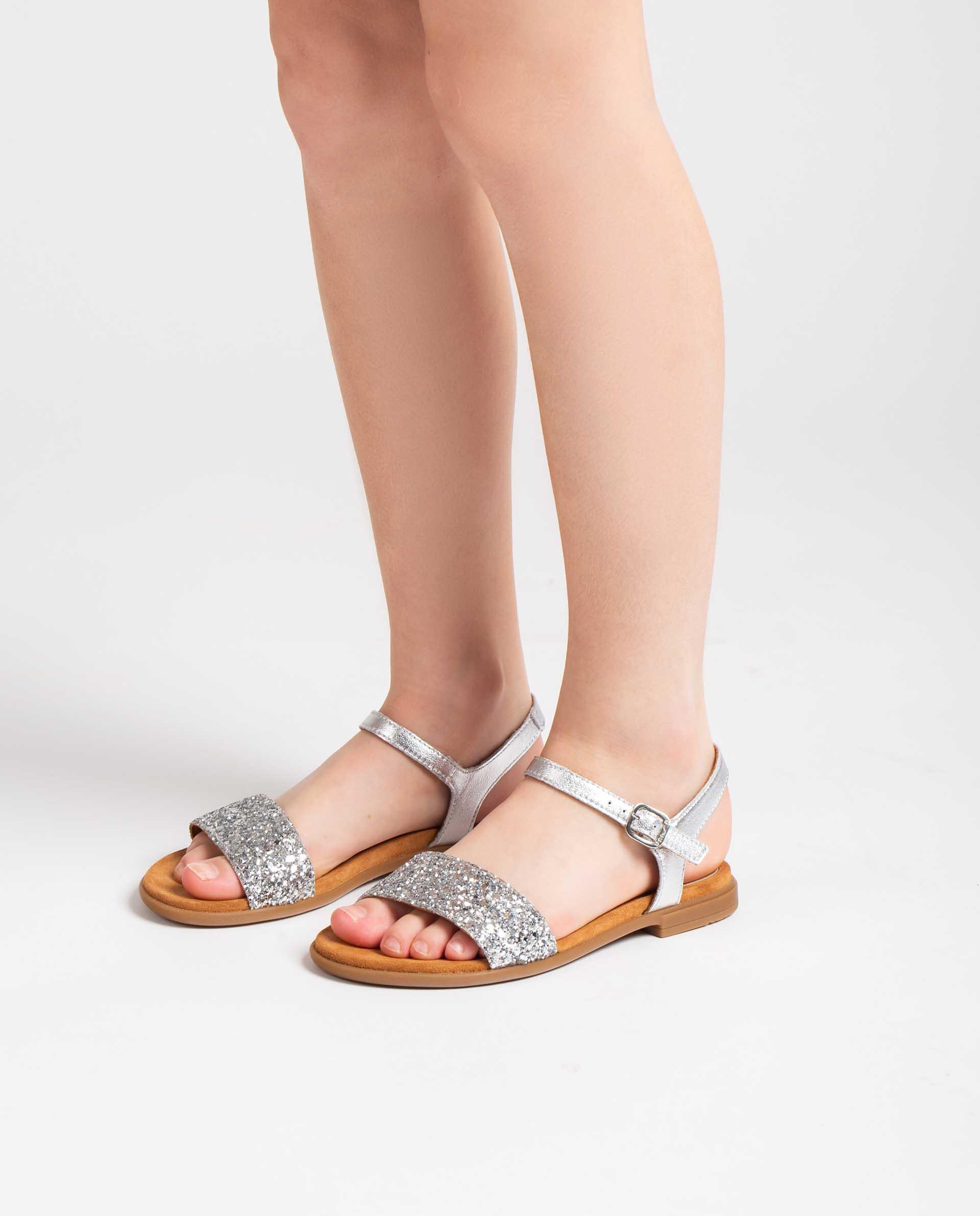 Unisa Sandals LIRITA_21_LMT_GL_CAN silver