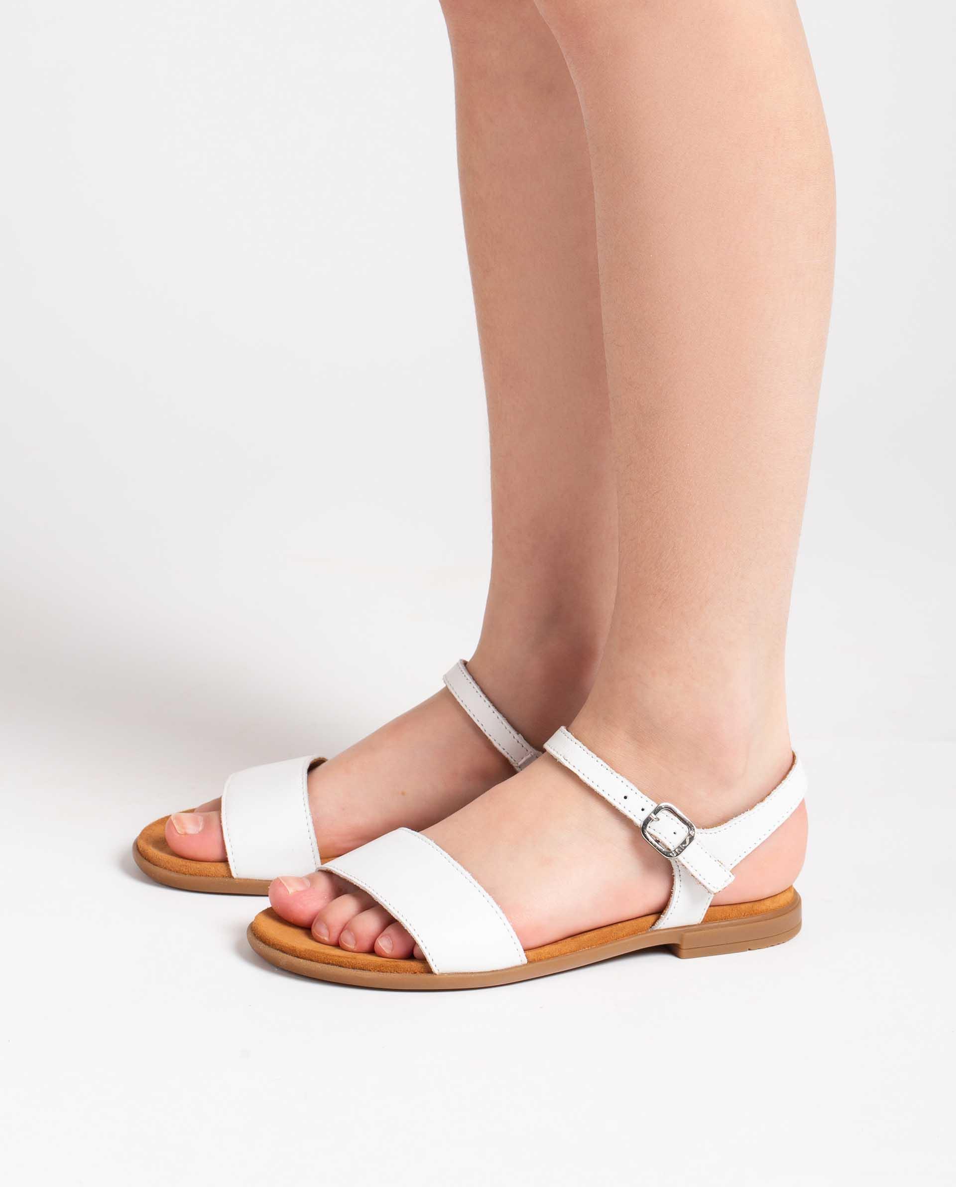 Unisa Sandals LIRITA_21_NT_CAN white
