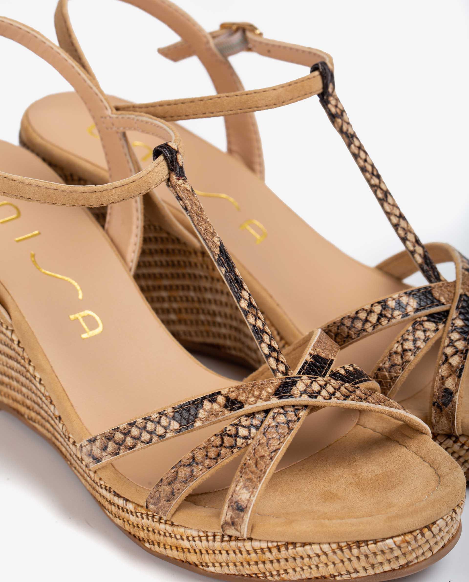 Unisa Sandals LLINAR_21_VIP_KS GINGE/CAME