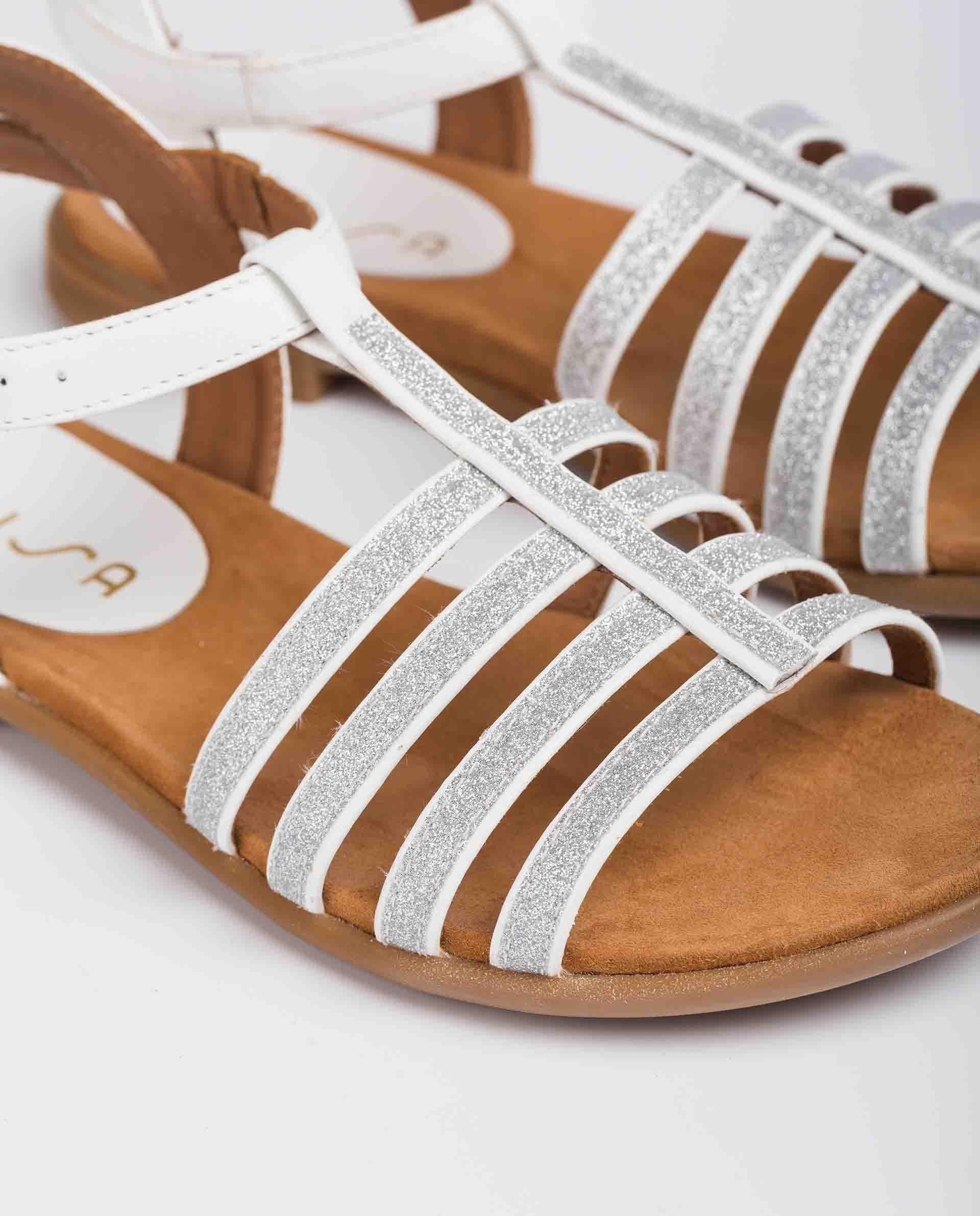 UNISA Little girl´s sandals leather straps LOTRE_21_NT 2